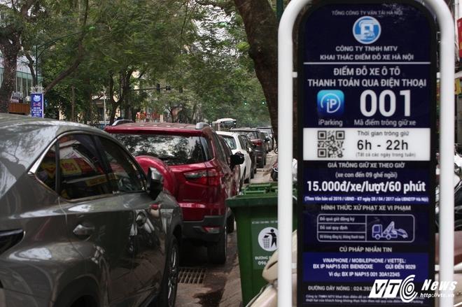 Ảnh: Tài xế sử dụng công nghệ đỗ xe thông minh tại Hà Nội thế nào? - Ảnh 3.