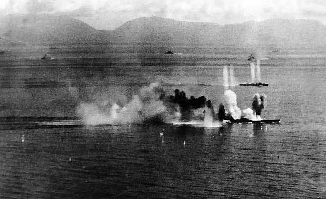 Trận hải chiến có quy mô lớn nhất trong lịch sử chiến tranh - Ảnh 2.