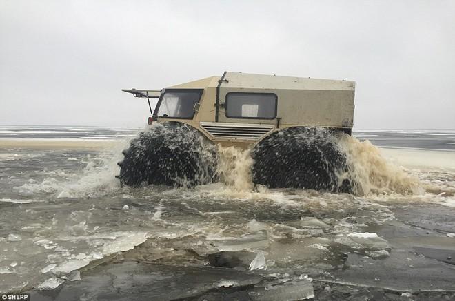 Sherp ATV - Quái vật tí hon có thể vượt mọi địa hình đến từ nước Nga - Ảnh 3.
