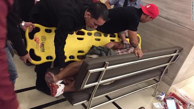 Cướp casino, nổ súng ở Philippines: Ít nhất 36 thi thể chết ngạt tại hiện trường - Ảnh 3.