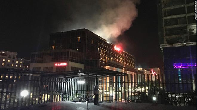 Cướp casino, nổ súng ở Philippines: Ít nhất 36 thi thể chết ngạt tại hiện trường - Ảnh 4.