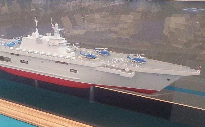 """Nga giới thiệu tàu đổ bộ sẽ thay thế Mistral, trang bị """"vũ khí hoàn hảo"""""""