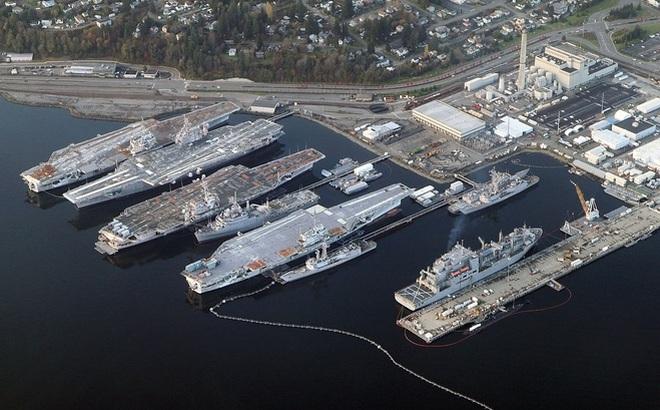 """Phát hiện """"tuyệt chiêu"""" của Hải quân Mỹ để có 355 tàu chiến như cam kết của TT Trump"""