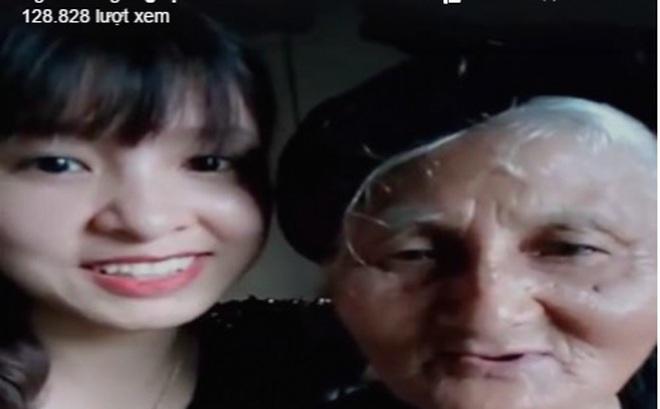 Cháu gái livestream 'rủ' bà tâm sự chuyện tình yêu gây sốt