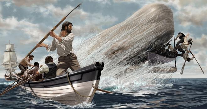 Moby - Huyền thoại về cá voi trắng và cuộc trả thù tàn khốc đối với con người - Ảnh 4.