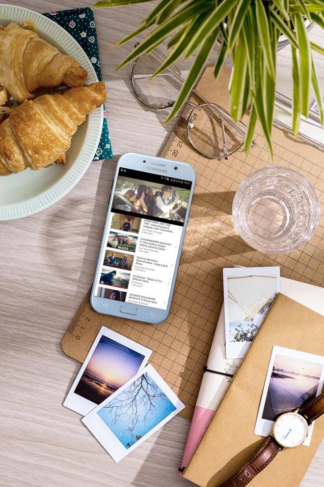 Độc quyền: Tặng ngay sạc pin Samsung khi đặt trước Galaxy A5 2017 Xanh Pastel - Ảnh 2.