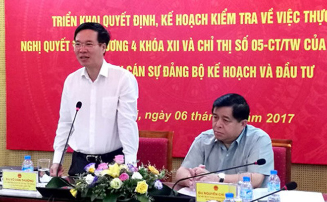 Ông Võ Văn Thưởng: Phê bình đôi lúc qua loa, phê bình thủ trưởng rất khó