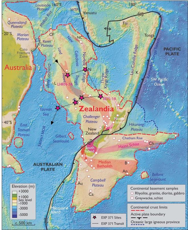 Lần đầu tiên trong lịch sử, Úc lên đường thám hiểm lục địa thứ 8 Zealandia - Ảnh 1.