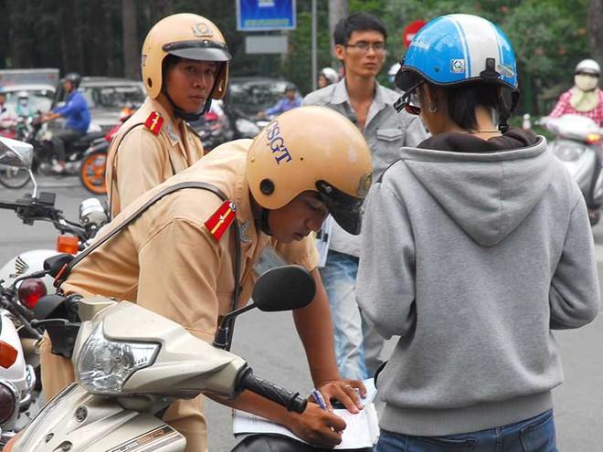 Cục CSGT bác thông tin tăng mức xử phạt từ 1-8 - Ảnh 1.