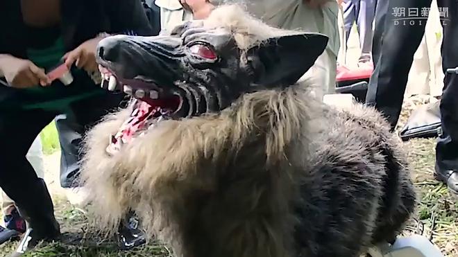 Đây là robot Quái vật Sói tại Nhật, mang trong mình linh hồn của loài sói Hokkaido đã bị tuyệt chủng xưa kia - Ảnh 1.