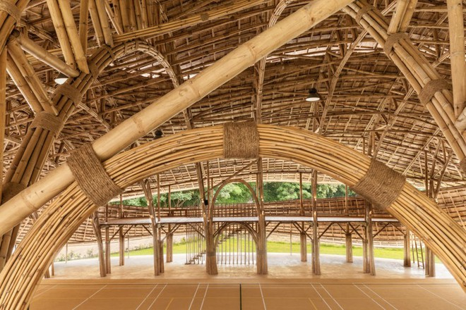 Giải mã ngôi nhà tre độc đáo hình nón lá, chống được động đất ở Thái Lan - Ảnh 7.