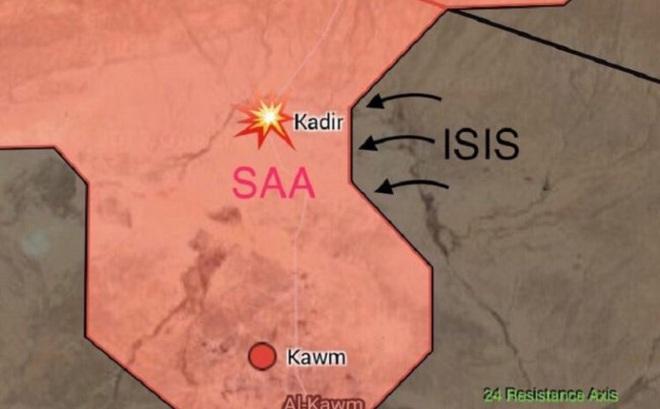 Mỹ lại bất ngờ không kích quân đội Syria ở Raqqa