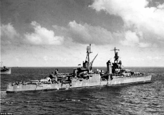 Tỷ phú công nghệ bất ngờ tìm thấy tàu chiến hạm Mỹ chìm dưới đáy biển cách đây 72 năm - Ảnh 3.