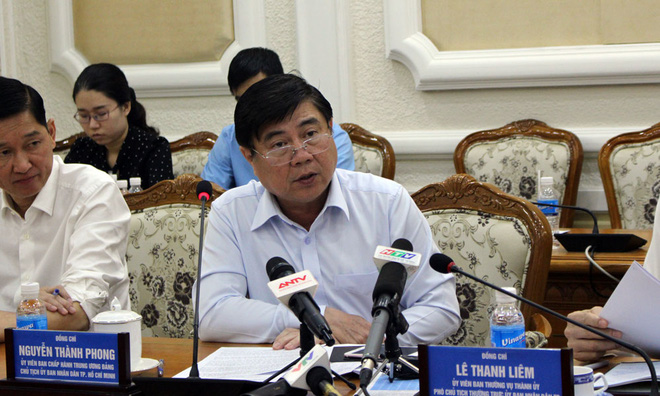 Chủ tịch TP.HCM: Cấp dưới báo cáo không đúng sự thật - Ảnh 1.