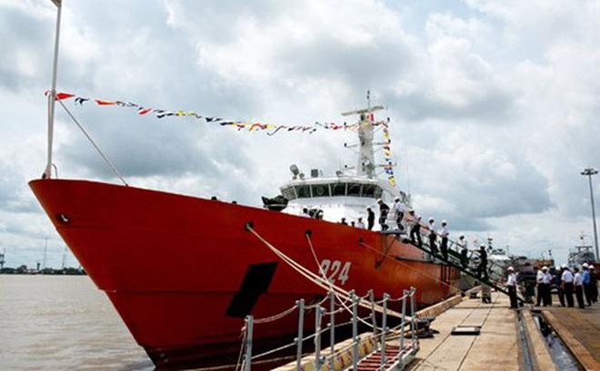 Nhà máy X51 bàn giao tàu tuần tra kết hợp tìm kiếm cứu nạn xa bờ