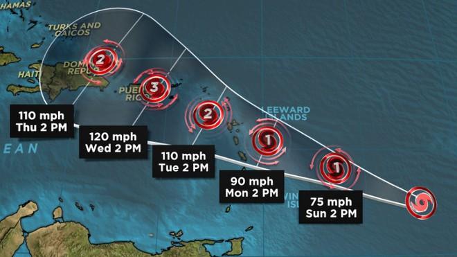 Nước Mỹ lại đứng ngồi không yên với 3 cơn bão mới, một trong chúng sẽ là siêu bão cấp 4 - Ảnh 3.