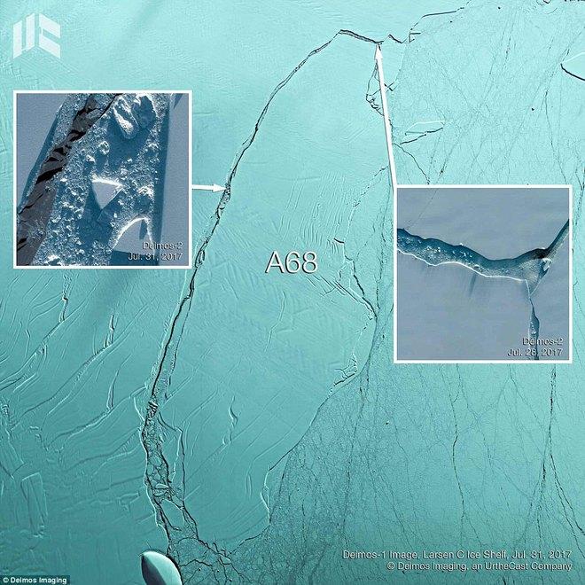 Thảm kịch tàu Titanic có lặp lại khi núi băng trôi 1000 tỷ tấn vừa tách khỏi Nam Cực? - Ảnh 2.