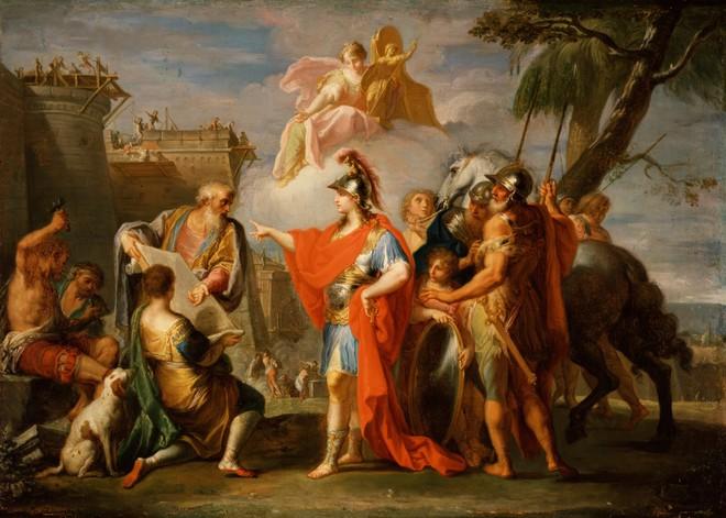 Sức mạnh nào giúp Alexander Đại đế được thần dân Ai Cập tôn làm pharaoh? - Ảnh 3.
