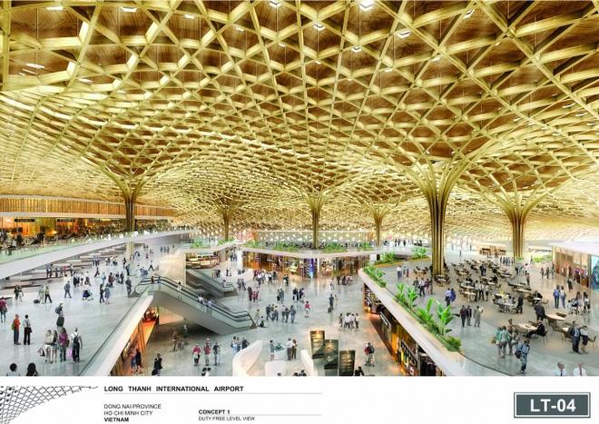 Trao đồng giải Nhất cho 3 phương án thiết kế nhà ga Long Thành - Ảnh 2.