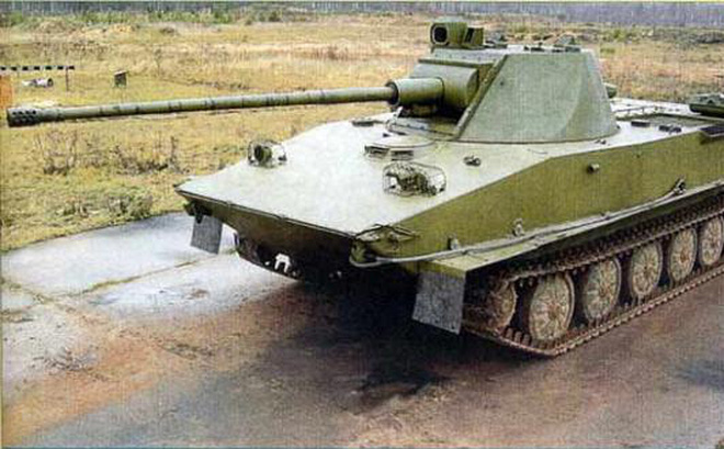 Chuyên gia Nga: Xe tăng PT-76 của Việt Nam trang bị loại pháo này sẽ có uy lực vượt trội