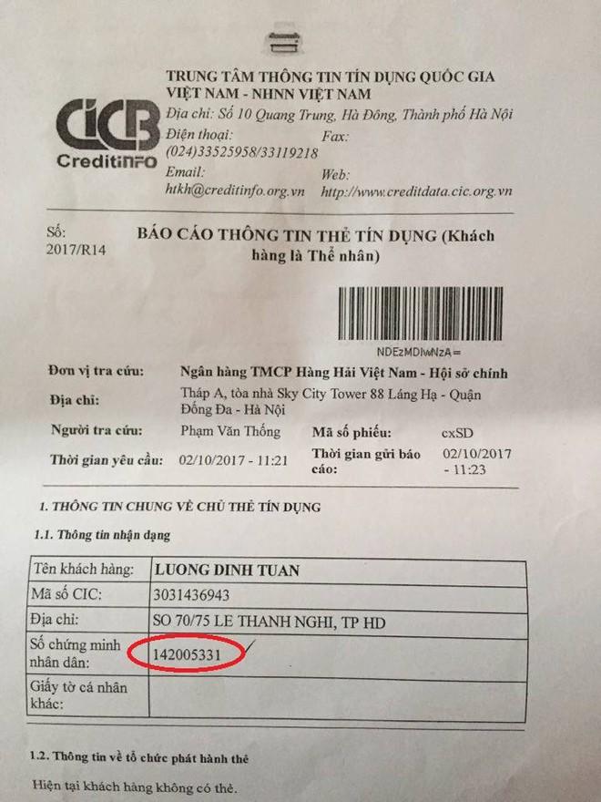 Lạ đời: Bỗng dưng gánh khoản nợ 500 triệu đồng từ ngân hàng Vietcombank - Ảnh 1.