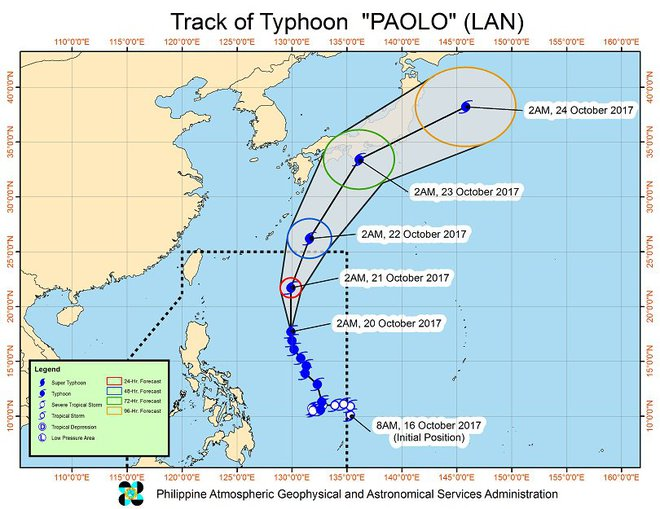 Ngày mai 23/10, siêu bão Lan sẽ đổ bộ vào Nhật gây mưa và lũ lụt khủng khiếp - Ảnh 5.