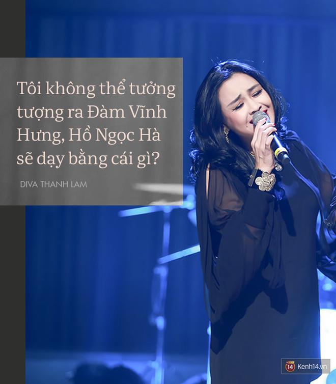 8 phát ngôn trong âm nhạc thẳng như ruột ngựa, chẳng ngại đụng chạm của Diva Thanh Lam - Ảnh 2.