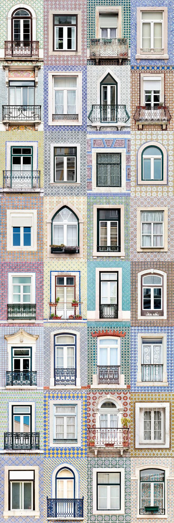 Mãn nhãn với 14 phong cách thiết kế cửa sổ ấn tượng ở Bồ Đào Nha - Ảnh 1.