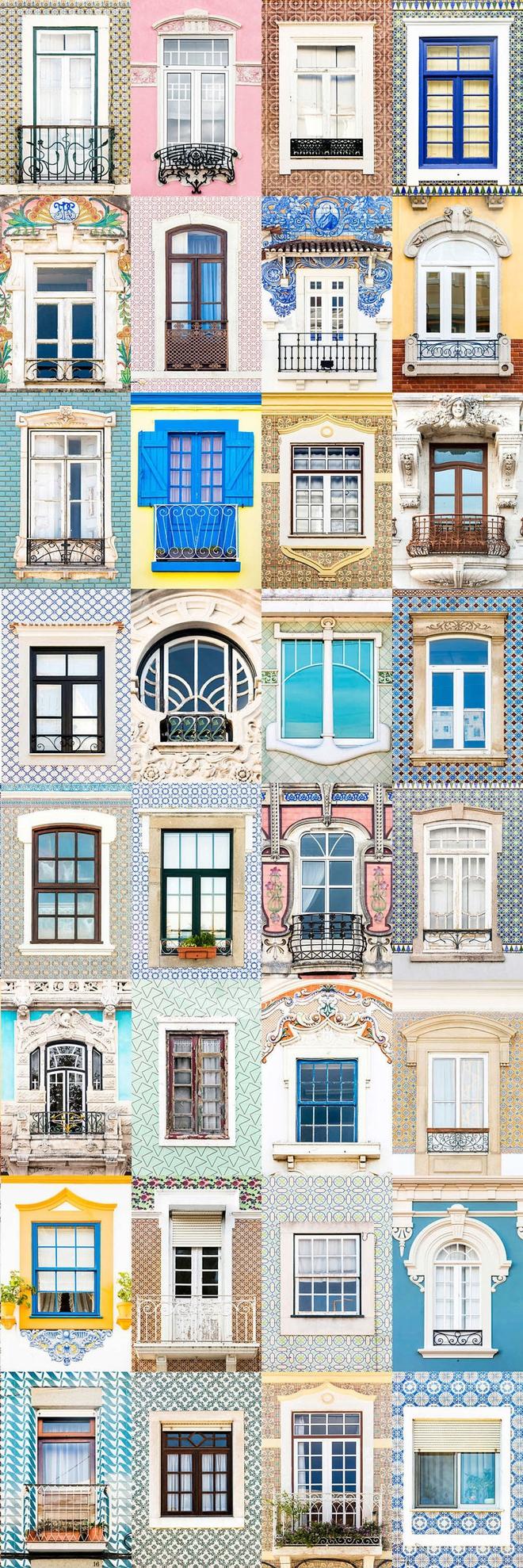 Mãn nhãn với 14 phong cách thiết kế cửa sổ ấn tượng ở Bồ Đào Nha - Ảnh 2.
