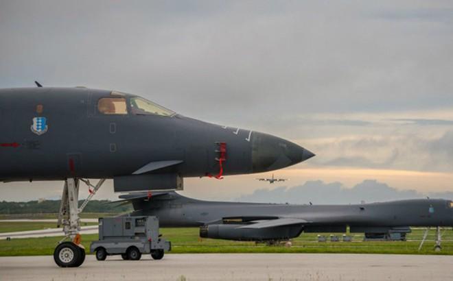 Chiến cơ siêu thanh Mỹ luyện tập tấn công ở bán đảo Triều Tiên