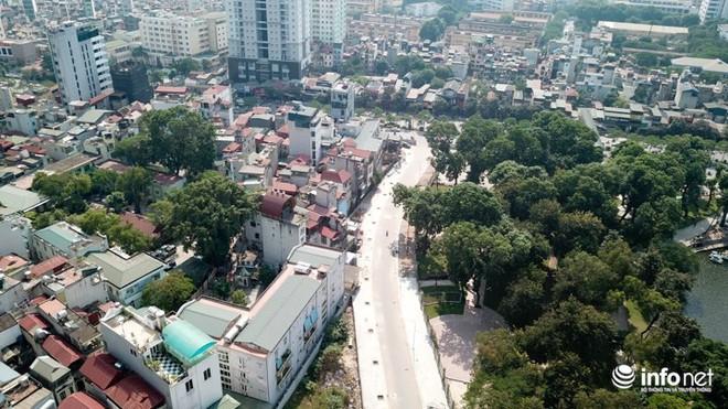 Đường dài hơn 0,5km giữa Thủ đô, làm gần 20 năm vẫn chưa xong - Ảnh 1.