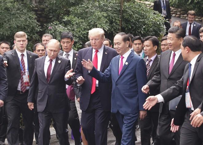 Những hình ảnh bên lề Hội nghị cấp cao của các nhà Lãnh đạo APEC - Ảnh 3.