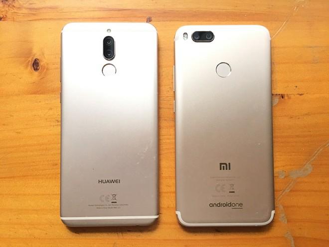 Huawei Nova 2i vs Xiaomi Mi A1: Cuộc chiến tầm trung - Ảnh 1.