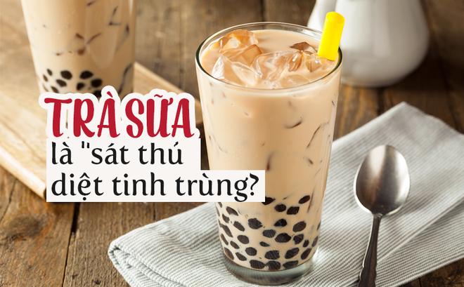 """Về lời buộc tội trà sữa là """"sát thủ"""" diệt tinh trùng, dẫn đến vô sinh: Chuyên gia nói gì?"""