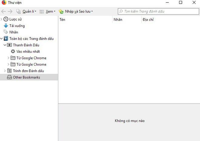 Cách chuyển tất cả dữ liệu từ Chrome sang Firefox - Ảnh 1.