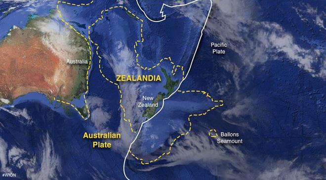 Tiết lộ chấn động về lục địa thứ 8 của Trái Đất mới được phát hiện - Ảnh 1.