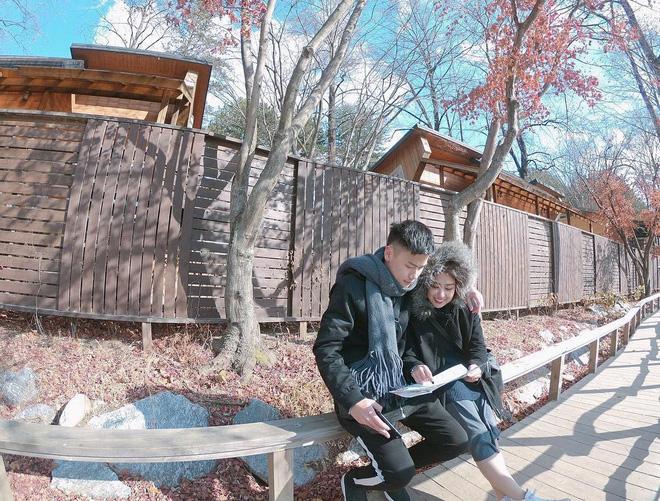 Clip kỷ niệm 2 năm ngày cưới siêu lãng mạn ở Hàn Quốc của vợ chồng Trang Lou - Ảnh 2.