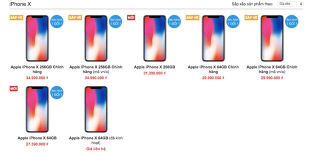 iPhone X chính hãng bắt đầu nhận đặt trước, giá 30 triệu đồng - Ảnh 1.