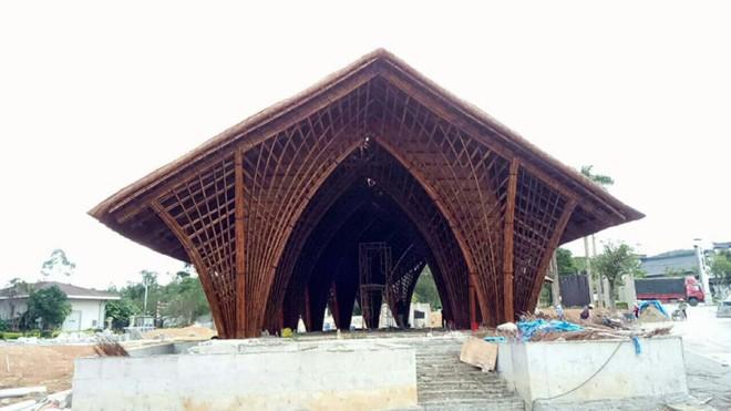 Nhà hàng tre của kiến trúc sư Việt đang xây dở đã lên tạp chí danh tiếng - Ảnh 4.