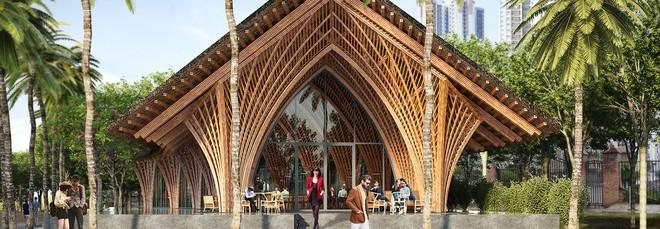Nhà hàng tre của kiến trúc sư Việt đang xây dở đã lên tạp chí danh tiếng - Ảnh 6.