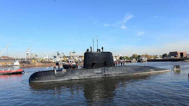 Nghi vấn công ty Đức cấp hàng kém chất lượng cho tàu ngầm Argentina mất tích - Ảnh 1.