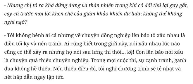 3 năm trước Ngọc Anh nói đồng nghiệp lên báo tố xấu nhau là điều tối kỵ, 3 năm sau vật đổi sao dời - Ảnh 1.