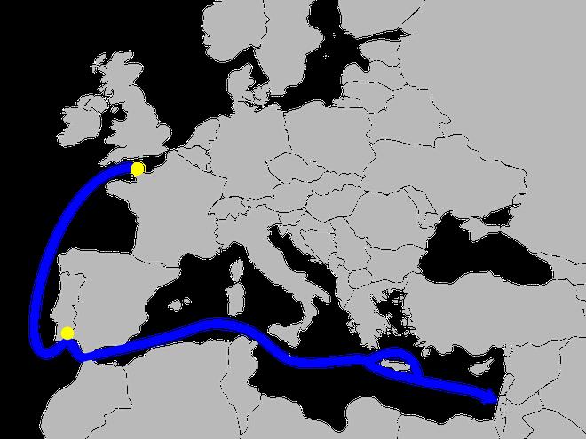 Israel và phi vụ kỳ tích: Đánh cắp 5 tàu Pháp đêm Giáng sinh - Ảnh 2.