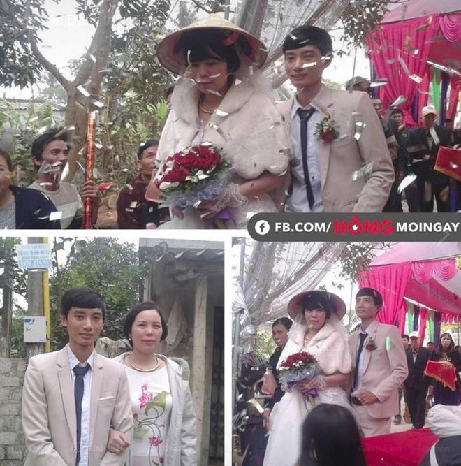 Đám cưới hạnh phúc của cặp đôi chồng kém vợ 2 giáp sau hơn 3 năm hẹn hò - Ảnh 1.