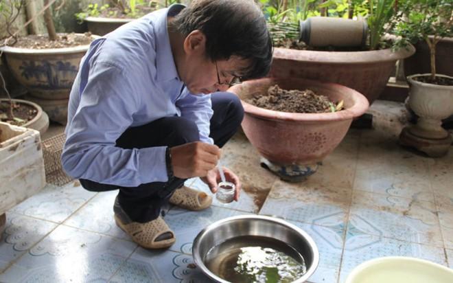 Bộ trưởng Y tế kiểm tra tại ổ dịch sốt xuất huyết Thuỵ Khê - Tây Hồ - Ảnh 13.