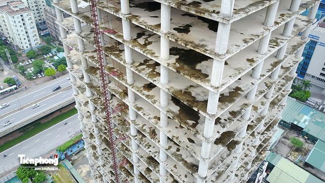 Tháp nghìn tỷ bỏ hoang trên đường vành đai 3 Hà Nội - Ảnh 14.