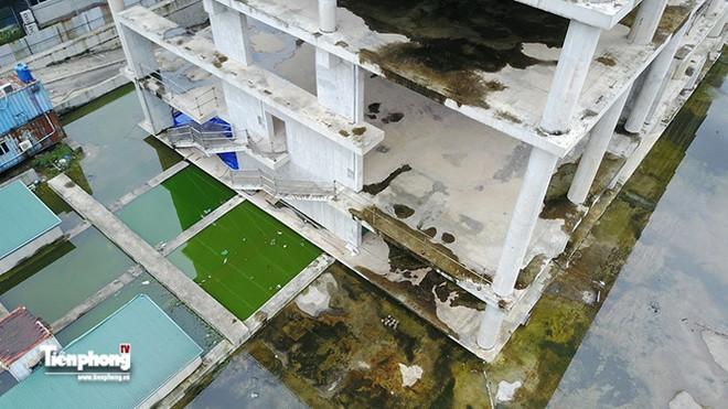 Tháp nghìn tỷ bỏ hoang trên đường vành đai 3 Hà Nội - Ảnh 17.