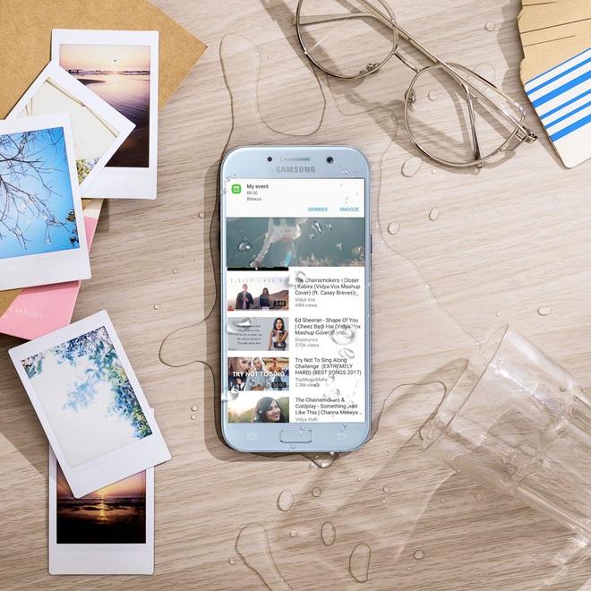 Độc quyền: Tặng ngay sạc pin Samsung khi đặt trước Galaxy A5 2017 Xanh Pastel - Ảnh 3.