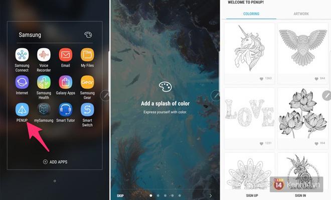 Galaxy Note8 có tính năng tô màu rất thú vị, bạn đã thử chưa? - Ảnh 3.