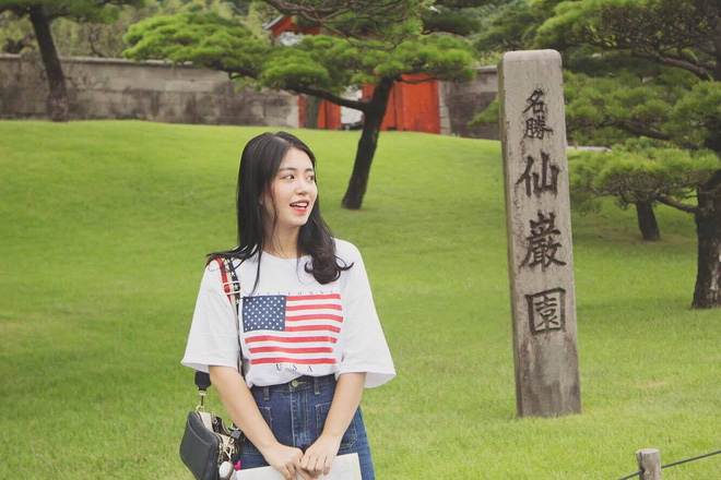 Mẫn Tiên xuất hiện xinh đẹp và gây chú ý trên đài truyền hình của Nhật Bản - Ảnh 3.